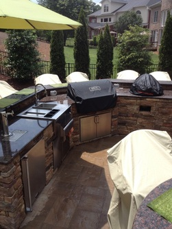 Charlotte outdoor kitchen