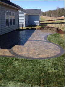 Fort Mill paver patio