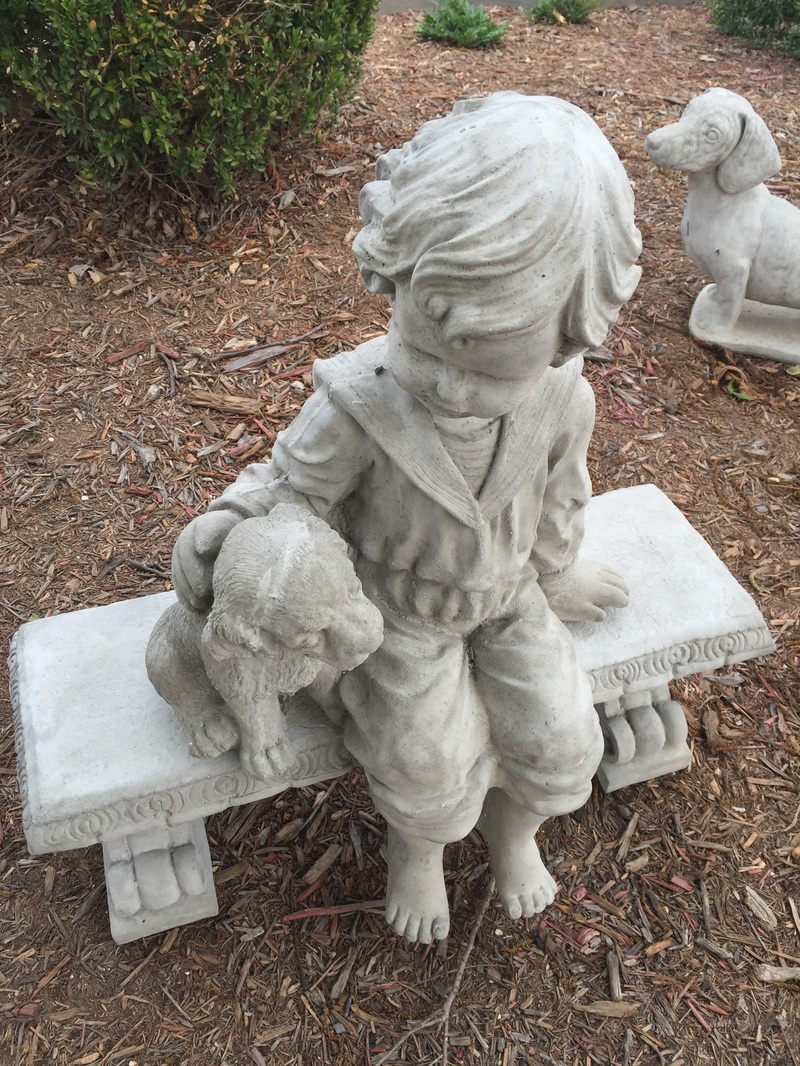 ... Store And Browse Our Selection Of Concrete Garden Decor Such As  Fountains, Benches, Angels, Animals, Gargoyles, Lanterns, Birdbaths And  Much More!